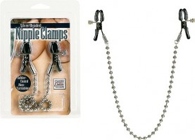 California Nipple Clamps mit Kette Nippel Klemmen