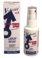 HOT V-Activ Penis Power Spray Men 50ml